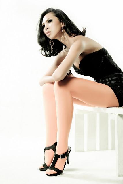 Model  Minh Trieu
