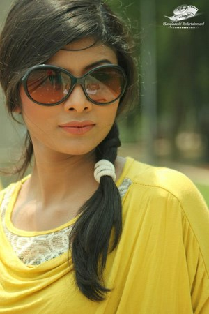 Bangladeshi model and actress Toya