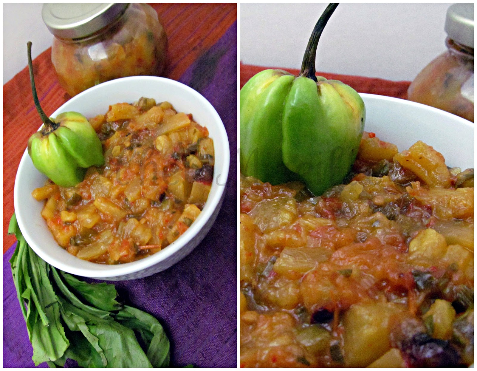 Roasted Habanero Pineapple Salsa