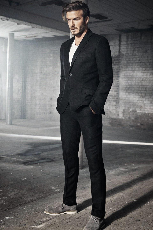 David Beckham Modern Suit