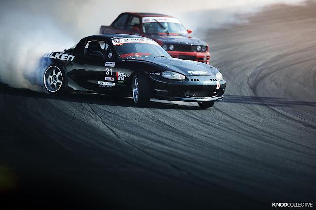 Mazda MX-5 NB, drifting, napęd na tył, roadster, hardtop, sportowa jazda, upalanie