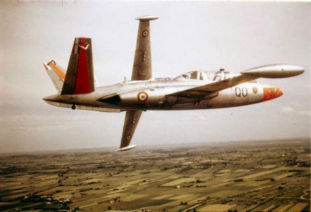 Fouga CM 170 Magister N°507