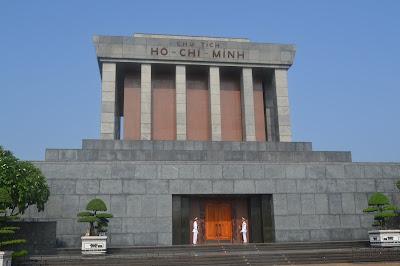 Ho chi inh mausoleum hanoi vietnam