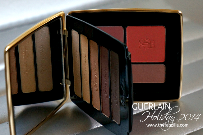 Guerlain Holiday 201, Palette Petrouchka,  Review, Swatch, Holiday Must-Have