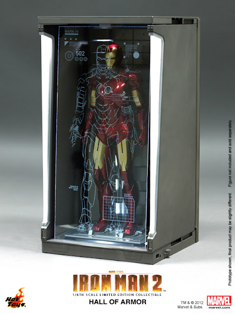 toyhaven: Incoming: Hot Toys Iron Man 2: 1/6th scale Hall ...