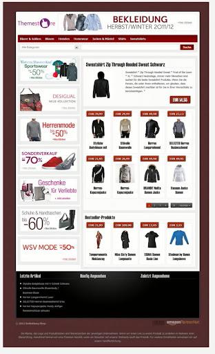 BasicZone eStore Amazon Affiliate Wordpress Theme   WP Shop Theme