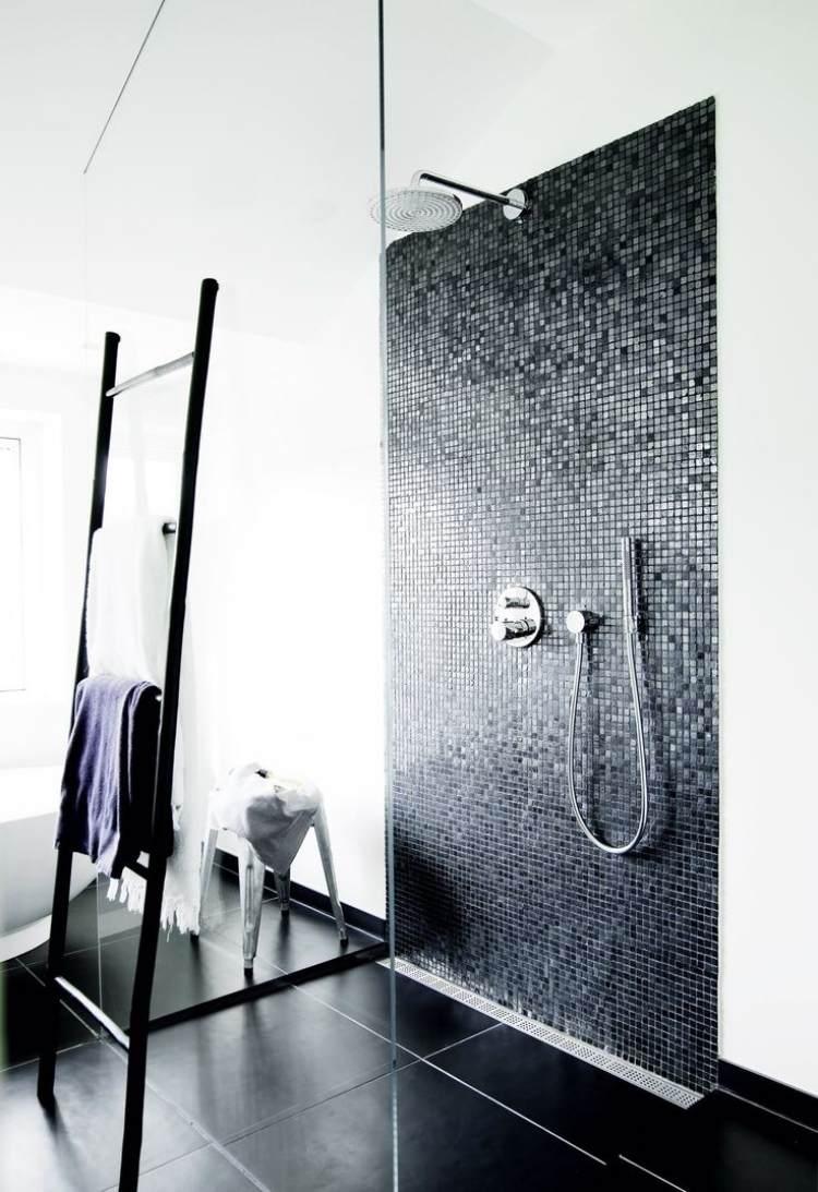 Walk-in shower in 50 attractive modern bathrooms   Bathroom Design