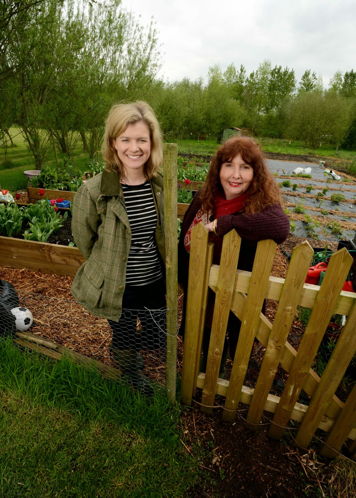Photo of Sara Wilman and Cally Smart from Our Flower Patch