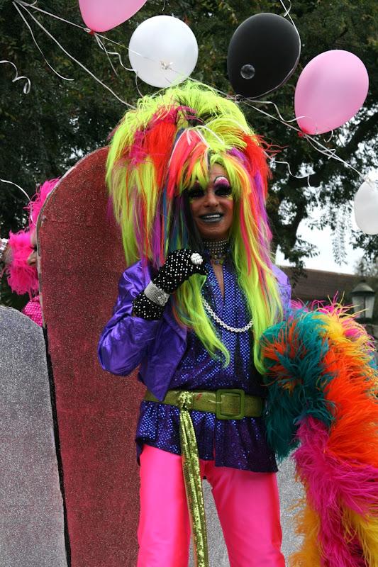 Neon drag WEHO Pride Parade