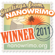 2011 NaNoWriMo Winner