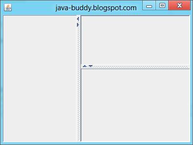 Nested JSplitPane