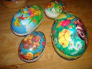 My collection of Swedish Easter eggs. easter