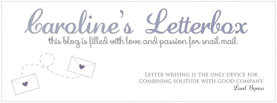 Caroline's Letterbox