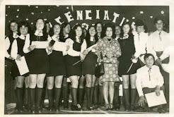 En última Licenciatura de alumnos-as Liceo de Nva. Imperial (dic. 1973)