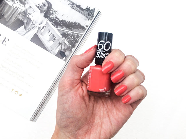 Rimmel 60 Second Super Shine Nail Polish The Review