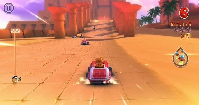 Garfield Kart iPhone - Android app gone free
