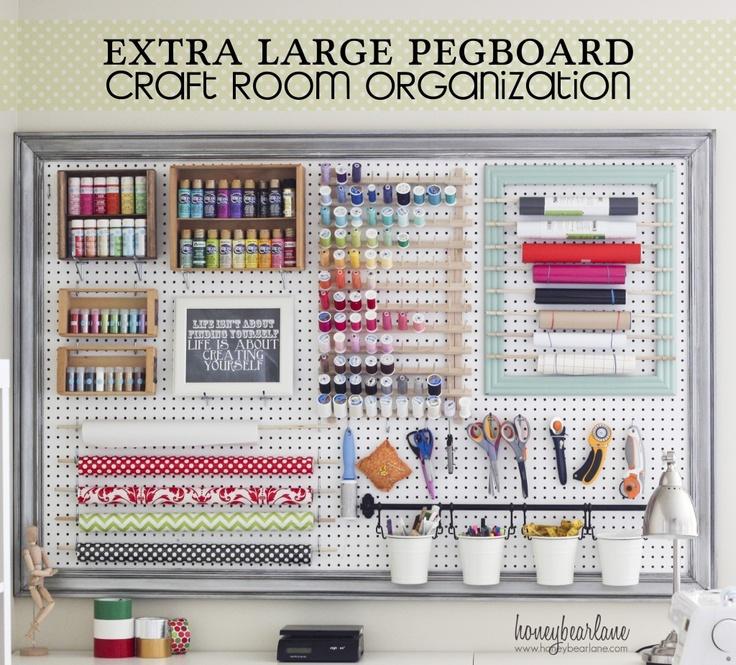 Sew Crafty Angel Craft Room Ideas