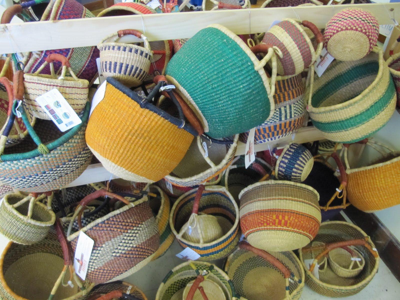 Handmade American Baskets : Domestic engineer life african baskets