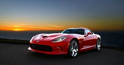 2013 SRT Viper red