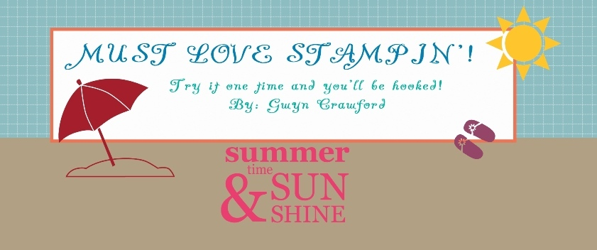 Must Love Stampin'!