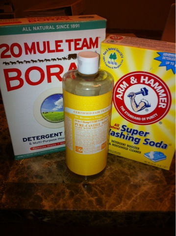 Homemade Liquid Laundry Detergent Homemaker Gone Natural