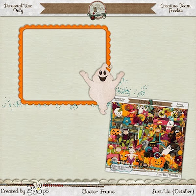 Just Us October from Wendy Tunison Designs and a Freebie!