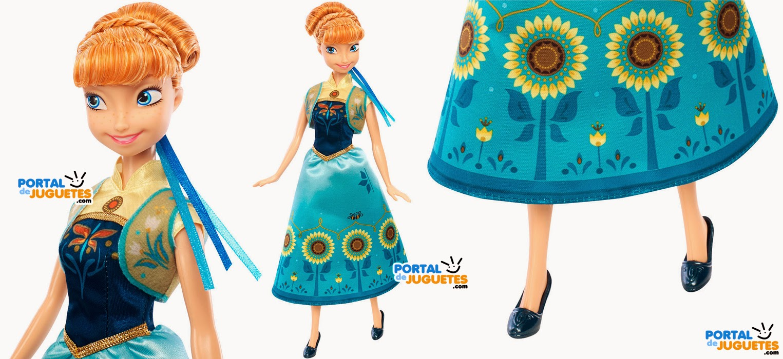 muñeca anna frozen fever mattel