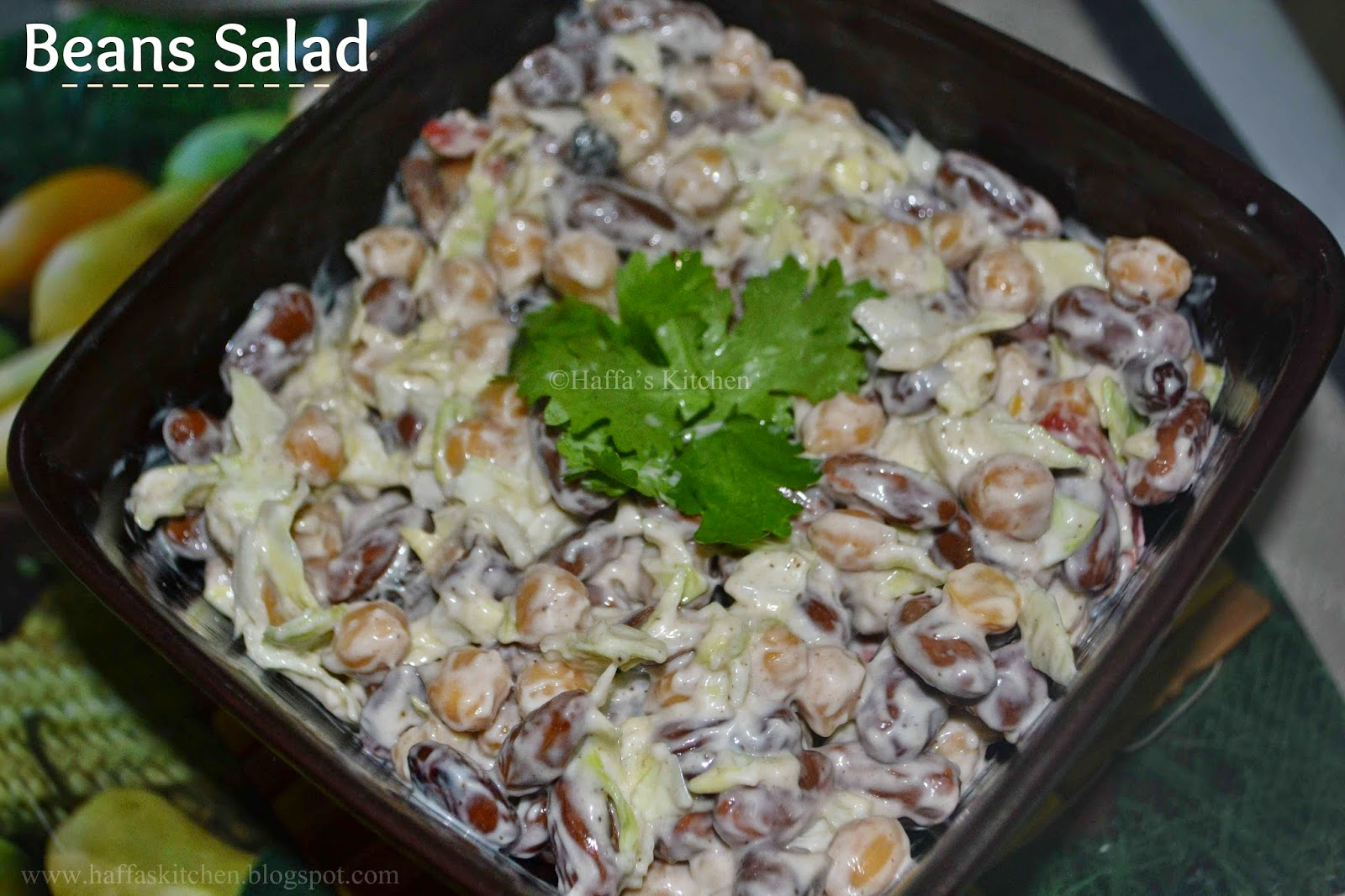 Red beans salad, Beans salads recipes, kidney bean salad, bean salad recipe