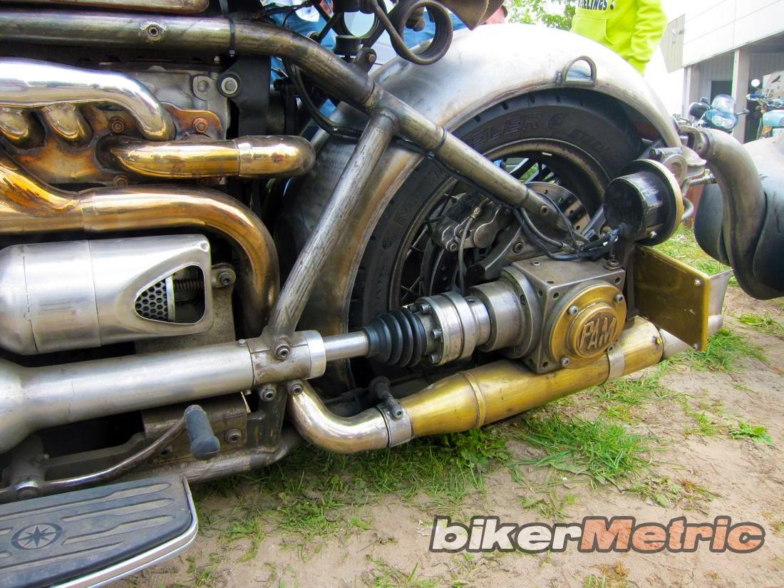 1.6 liter volkswagen bobber - shaft drive | stephan sanderse