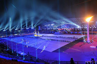 opening sea games ke-26 di palembang