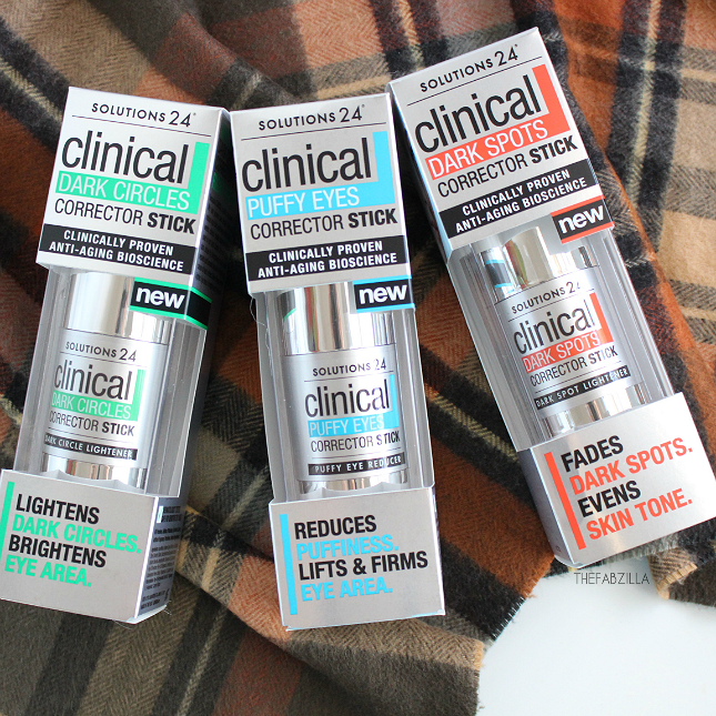 solutions 24 clinical corrector stick review, how to reduce dark circles, how to reduce eye puffiness