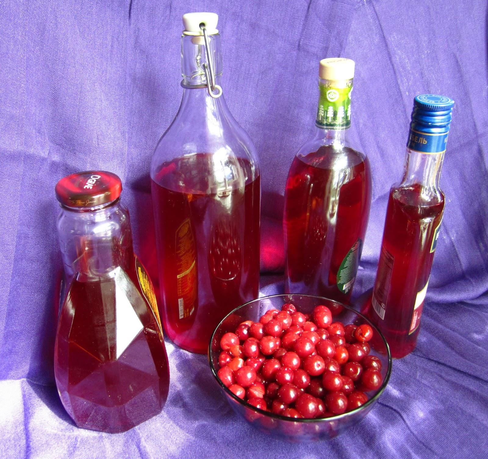 Настойка на вишне в домашних условиях рецепт 836