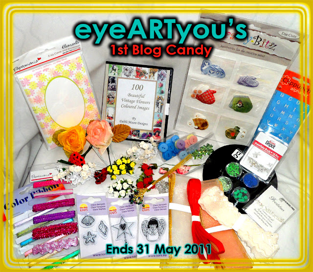 My 1st Blog Candy Giveaway