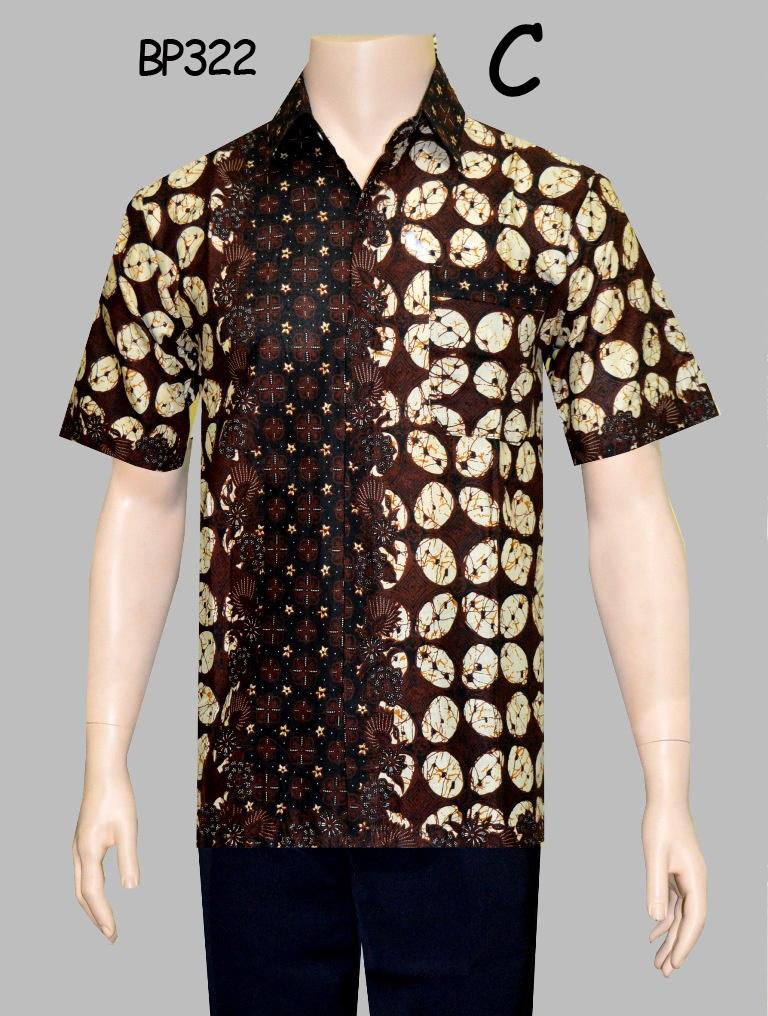 Baju Batik Kantor Untuk Pria BP322