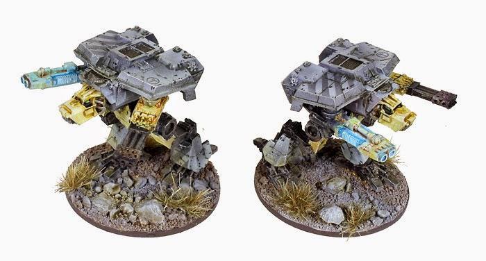 Epic Scale Legio Gryphonicus Warhound Titans