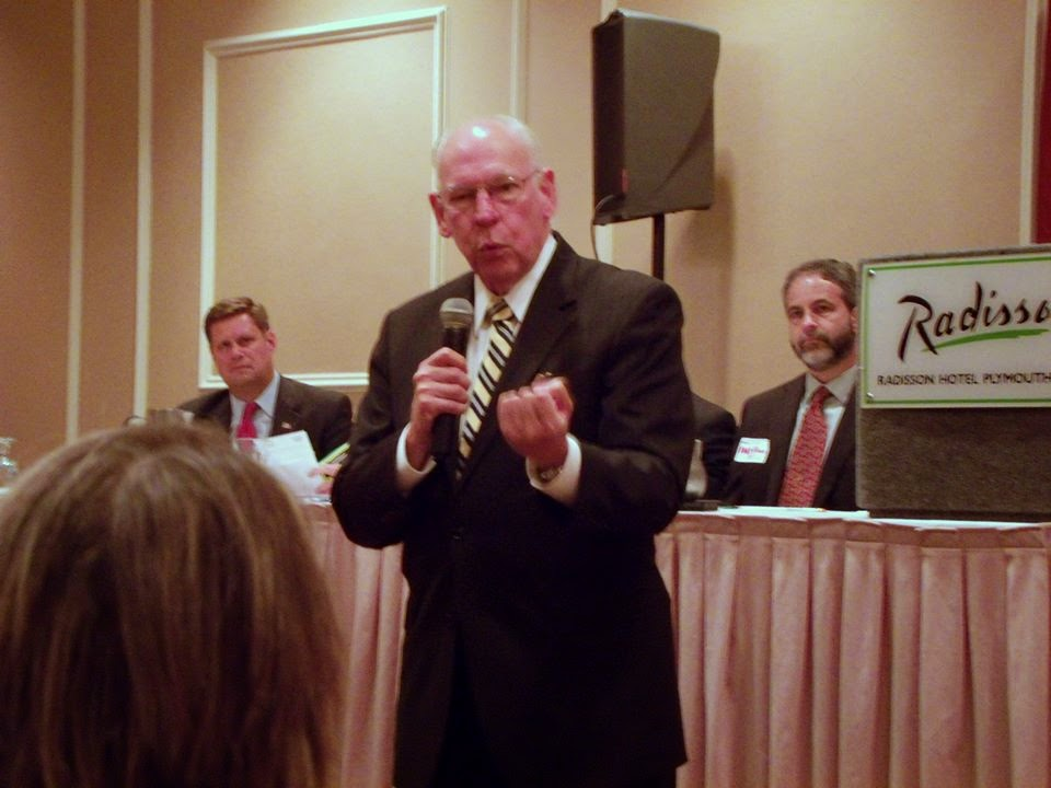 Pastor Rafael Cruz speaks in Plymouth, MA