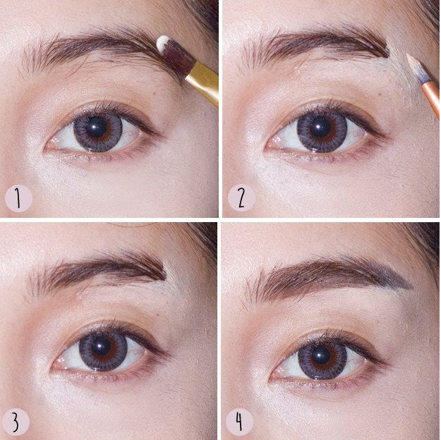 Eyebrows Shaping Tutorial Fashion Trends