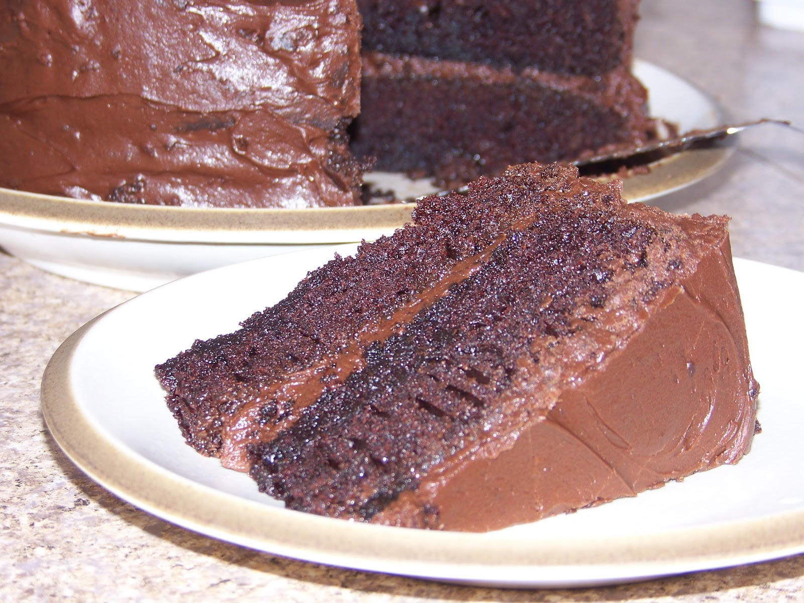 "Stefanies Cooking Spot: Hershey's ""Perfectly Chocolate"" Chocolate Cake"