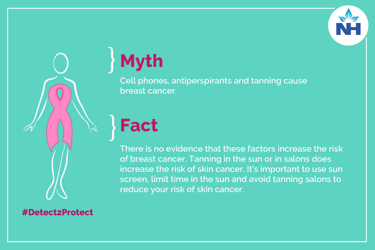 Gadgets can cause of Breast cancer