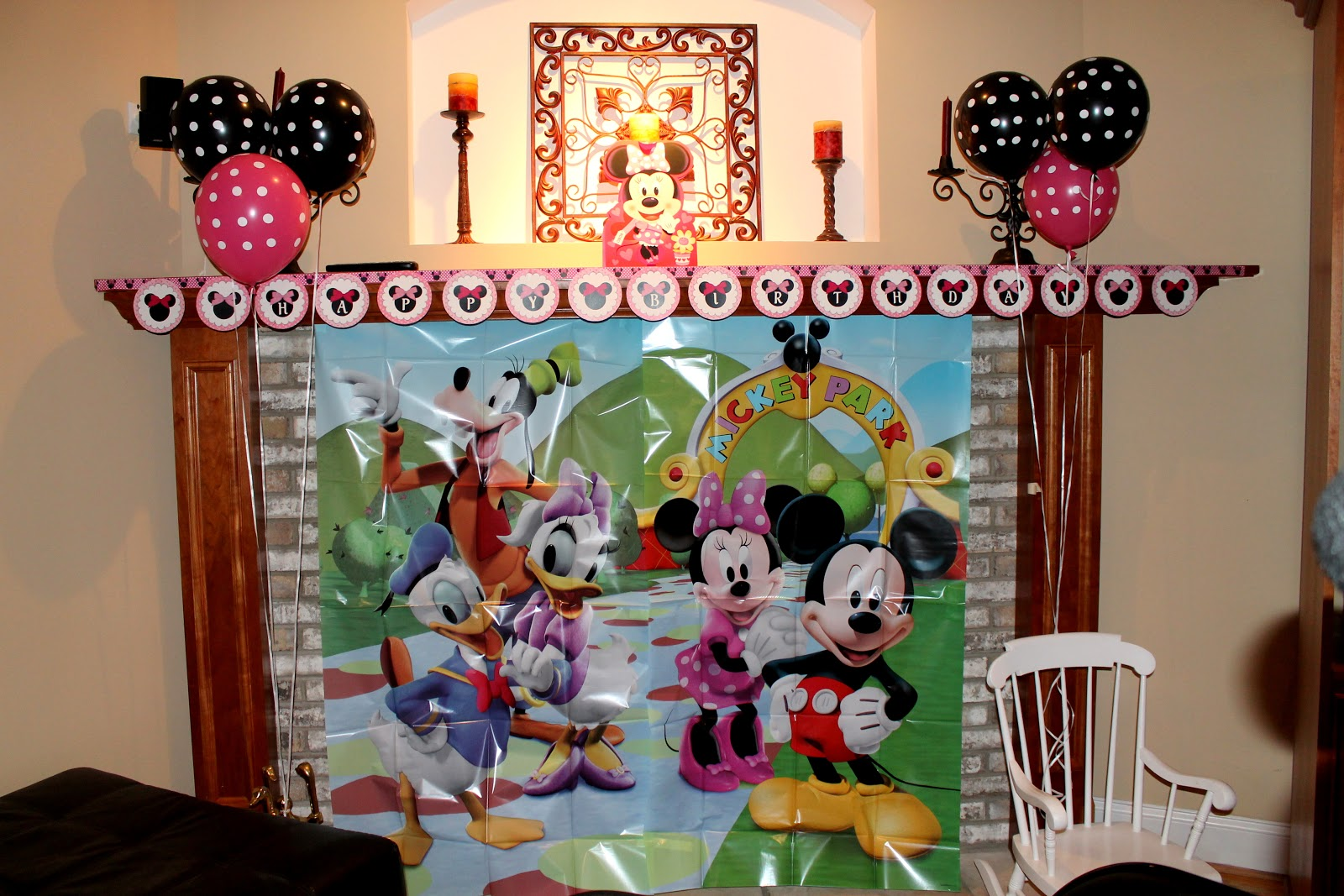 Minnie mouse 2nd birthday party for 2nd birthday party decoration