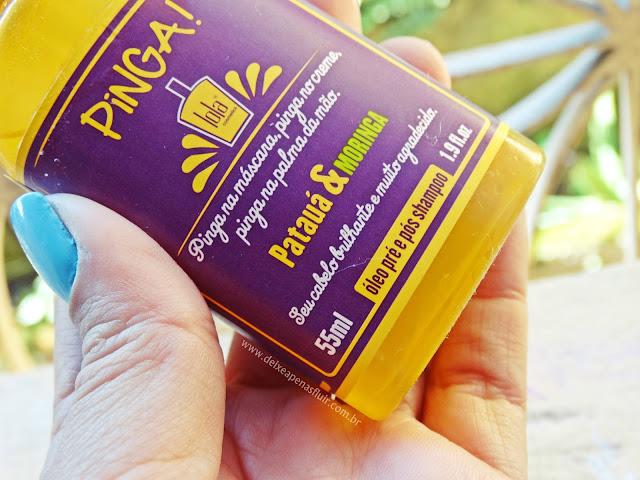 Pinga de Patuá & Moringa - Lola Cosmetics