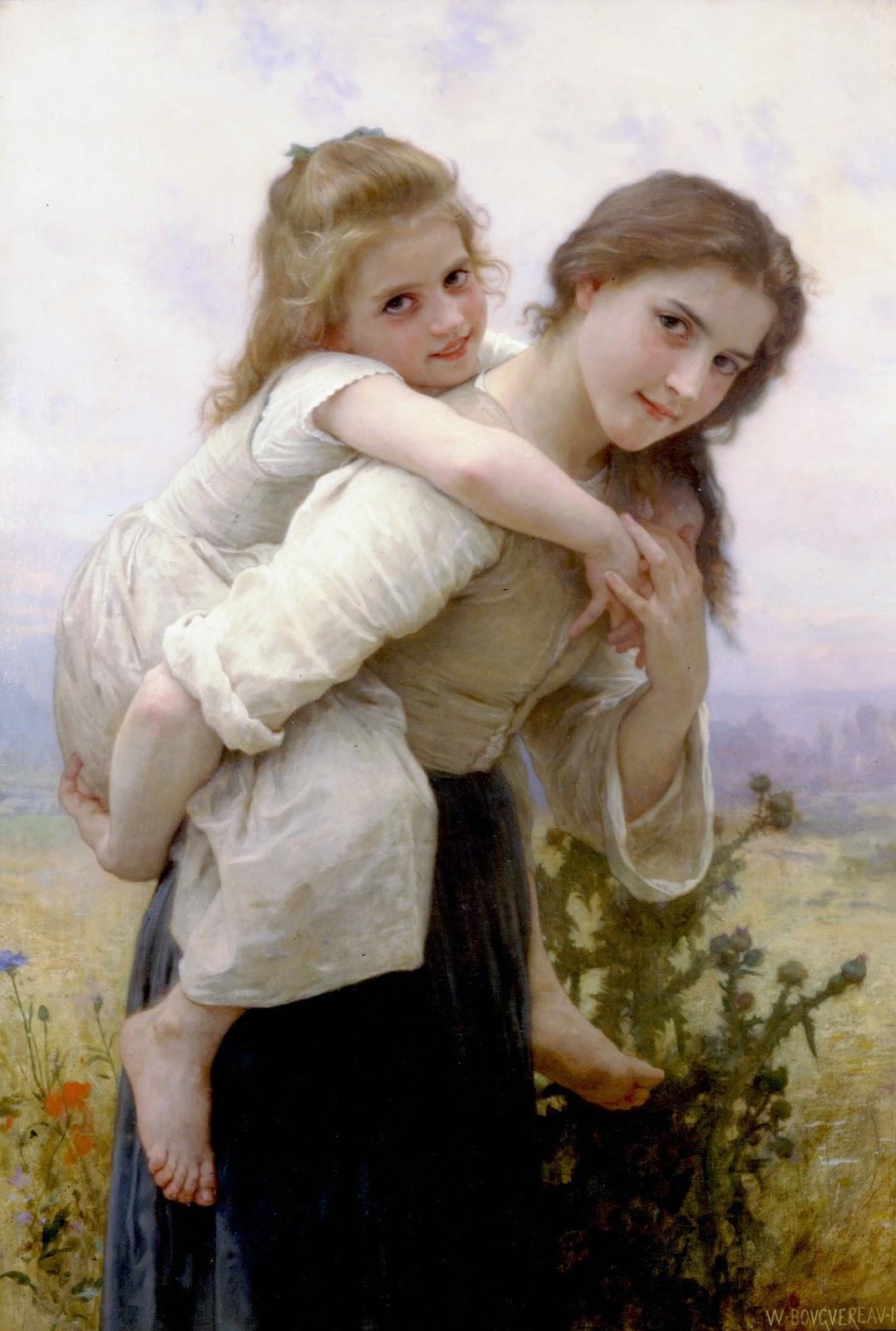 Fardeau Agreable. 1895. Óleo sobre tela - 112 x 76 cm