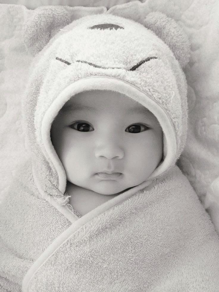 Gratis gambar bayi dari korea