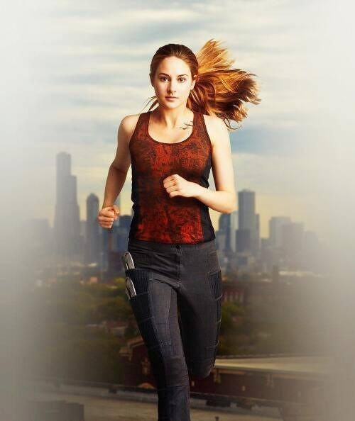 Tris Prior in Divergent Movie
