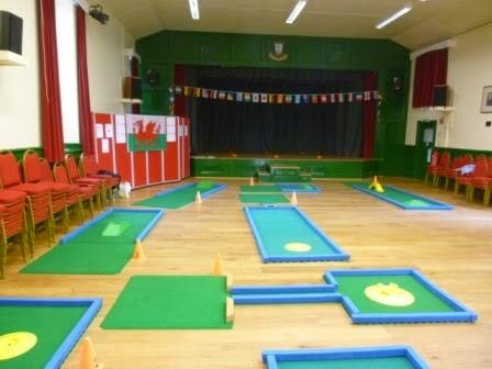 Portaputt Mini Golf course, Cwmbran