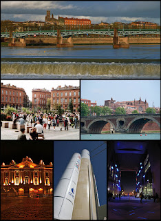 Confession: Je suis à Toulouse, France (I am in Toulouse)