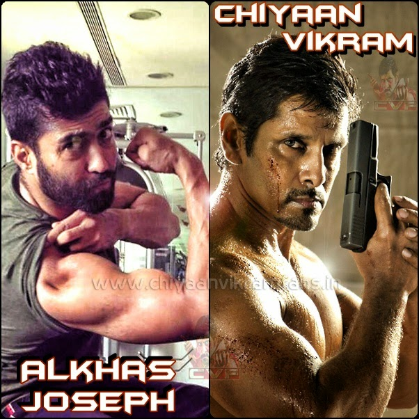 Alkhas joseph about chiyaan vikram in ai chiyaan vikram fans alkhas joseph who trained vikram for his upcoming film ai says that the actor loves cycling in public places wearing a mask he shed almost 20kg for the thecheapjerseys Choice Image