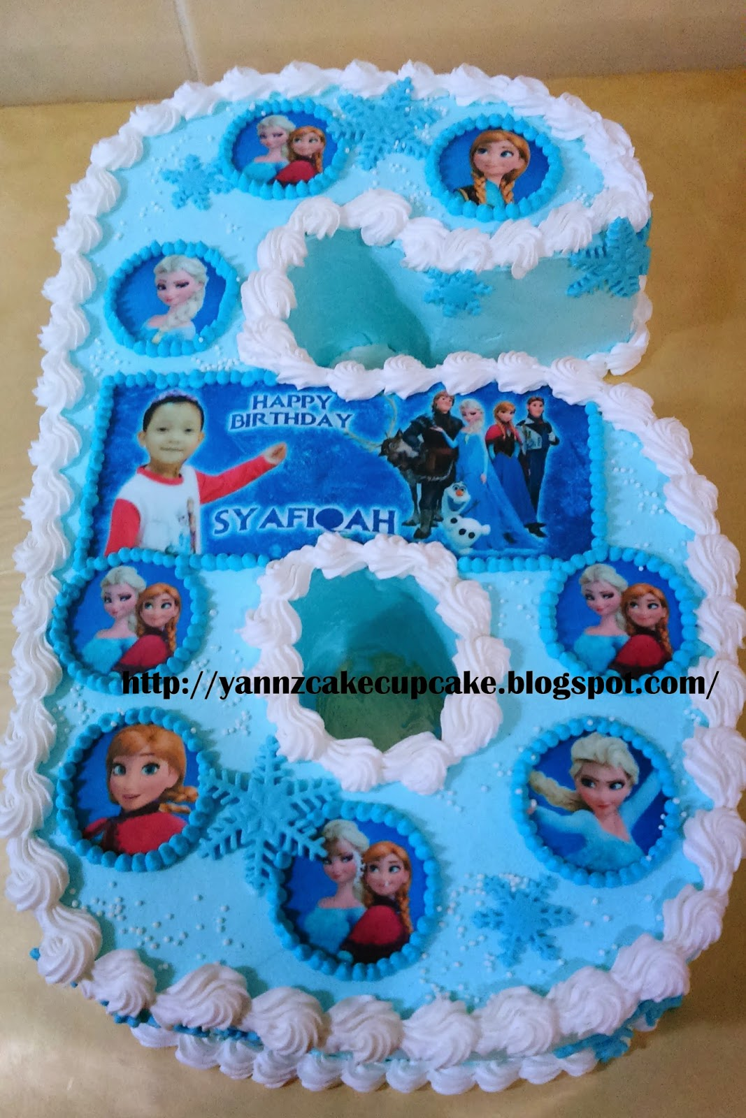 Cake Cupcake By Yannz Number 6 Cake