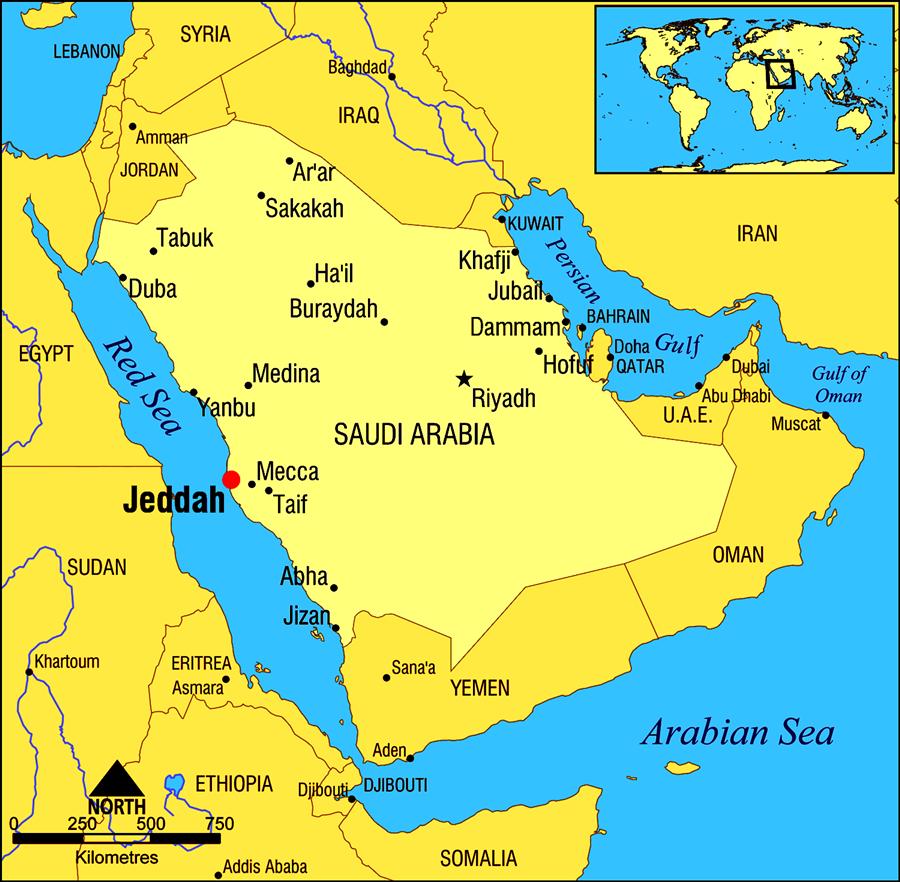 Sejarah Panjang Kota Jeddah