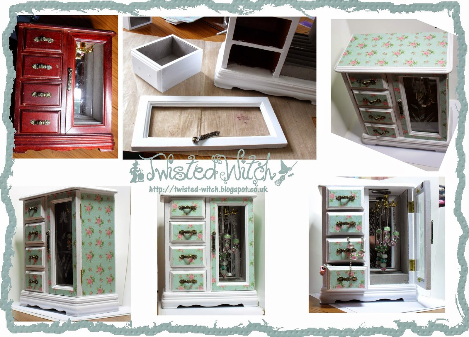 The Mirror Crack\'d: #04 Recycle/Upcycle or a Christmas Gift PLUS DT CALL